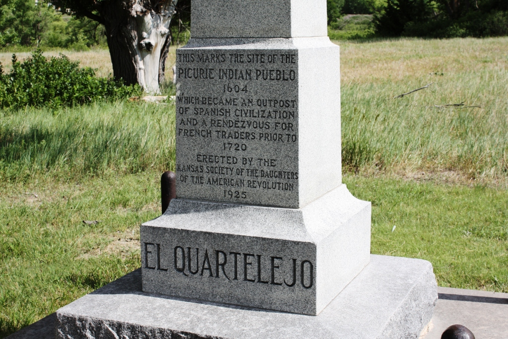 DAR Monument at El Quartelejo